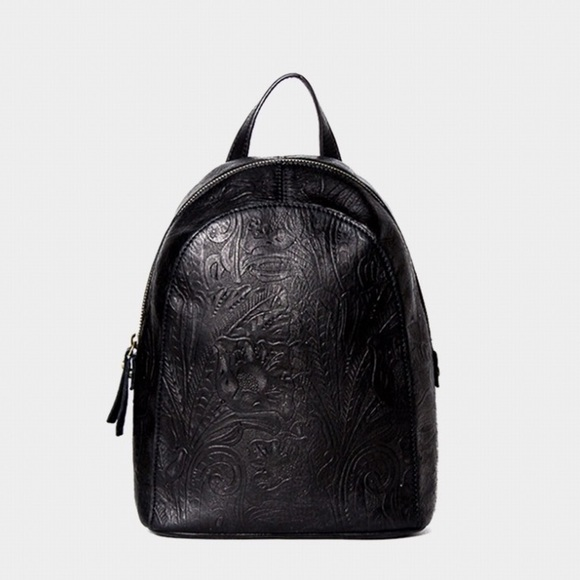 01e2a53fa American Leather Company Bags | American Leather Black Floral ...